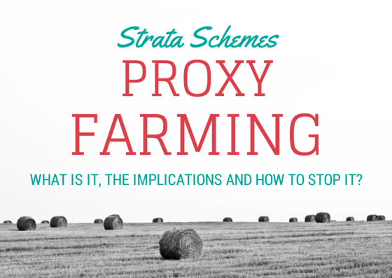 what is proxy farming