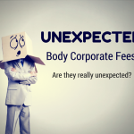 unexpected body corporate fees