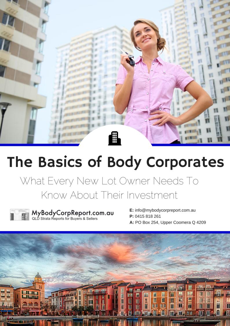 The Basics of Body Corporates