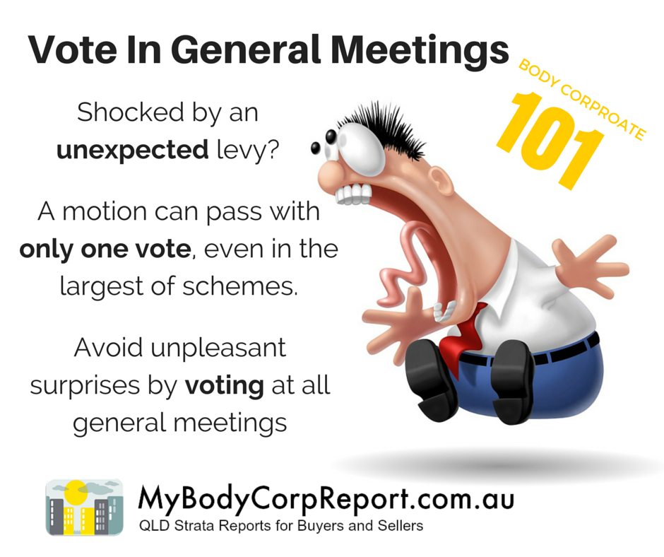 Body Corporate Voting Rights
