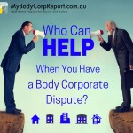 body corporate dispute