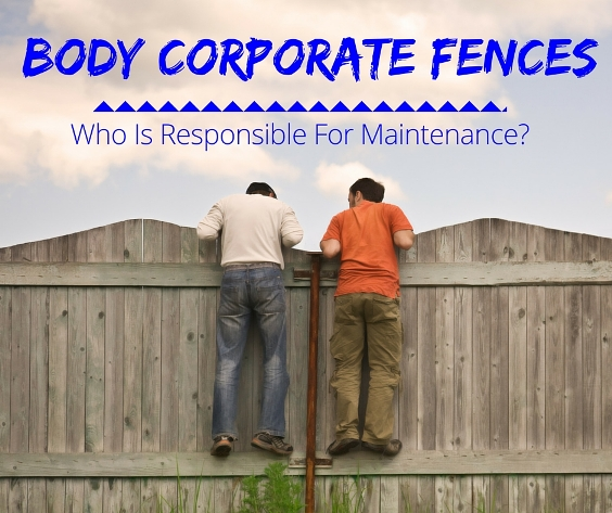 Body Corporate Fences