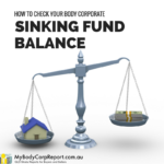 body corporate sinking fund balance