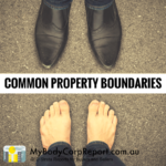 Common Property Boundaries