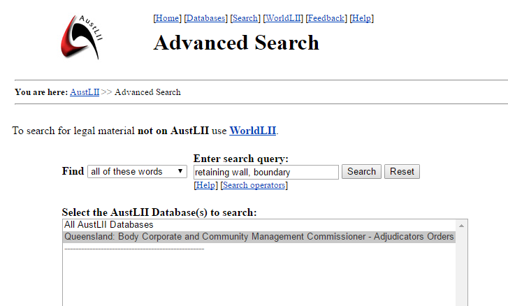 Search Adjudicators Orders