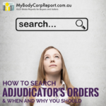 Search Adjudicators Orders