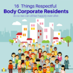 16 Things Respectful Body Corporate Residents Do