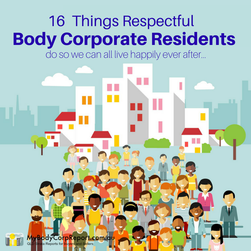 body corporate residents
